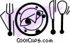 Dinner Vector Clipart picture