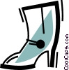Ladies Boots Vector Clipart picture