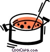 Pots and Pans Vector Clipart illustration