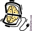 Vector Clipart illustration  of a Waffle Irons