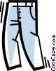 Vector Clipart illustration  of a Pants