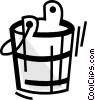Mops and Pails Vector Clip Art picture