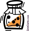 Vector Clipart graphic  of a Jams