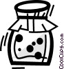 Jams Vector Clipart illustration