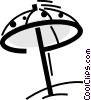 Umbrellas Vector Clipart picture