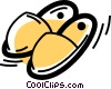 Vector Clipart illustration  of a Slippers