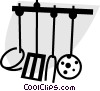 Vector Clipart graphic  of a Cooking Tools