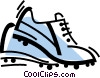 Vector Clipart graphic  of a Cleats