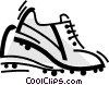 Cleats Vector Clipart illustration