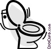 Toilets Vector Clipart picture