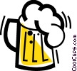 Beer Vector Clipart graphic