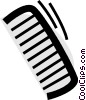 Vector Clipart picture  of a Combs
