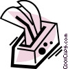 Kleenex Tissues Vector Clip Art picture