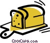 Bread Vector Clip Art graphic