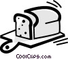 Vector Clipart image  of a Bread