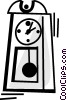 Vector Clipart illustration  of a Grandfather Clocks