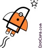 Rockets Vector Clip Art picture