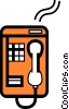 Public Pay Phones Vector Clip Art image