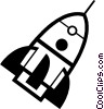 Rockets Vector Clipart graphic