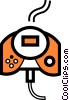 Game Controller Vector Clipart illustration