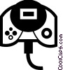Vector Clip Art image  of a Game Controller