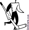 Goalie Vector Clipart picture