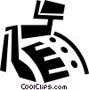 Cash Register Vector Clip Art graphic