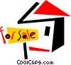 Real Estate Vector Clip Art graphic
