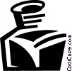 Vector Clipart image  of a Ink Bottles