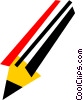 Pencils Vector Clipart picture