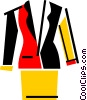 Vector Clip Art graphic  of a Dresses