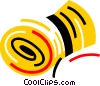 Vector Clipart graphic  of a Knitting Yarn Wool