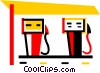 Petroleum and Gasoline Vector Clipart illustration