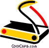 Treadmills Vector Clipart picture