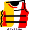 Life Vests and Preservers Vector Clipart graphic