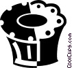 Vector Clipart graphic  of a Muffins