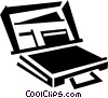 Briefcases Vector Clipart picture