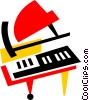 Pianos Vector Clipart picture