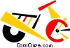 Scooters Vector Clipart graphic