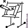Easels Vector Clip Art picture