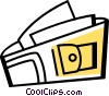 Wallets Vector Clip Art graphic