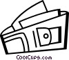 Vector Clipart graphic  of a Wallets