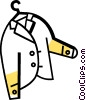 Vector Clipart illustration  of a Coats and Jackets