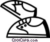 Vector Clip Art picture  of a Running Shoes