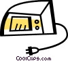Vector Clipart graphic  of a Grills and Cook Ovens