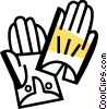 Vector Clipart graphic  of a Gloves