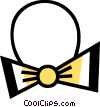 Vector Clip Art graphic  of a Bow Ties