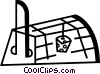 Vector Clip Art image  of a Mousetrap