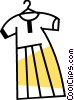 Vector Clipart image  of a Dresses