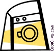 Clothes Dryers Vector Clipart picture